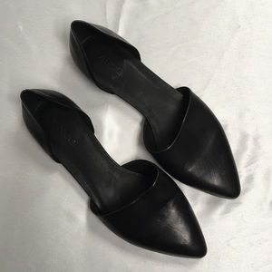 Vince Vero Cuoio Black Shoes 9M/40 Made In Italy